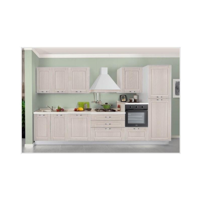 Cucina Componibile Modello Bea Frassino Con Lavastoviglie Arredo Casa