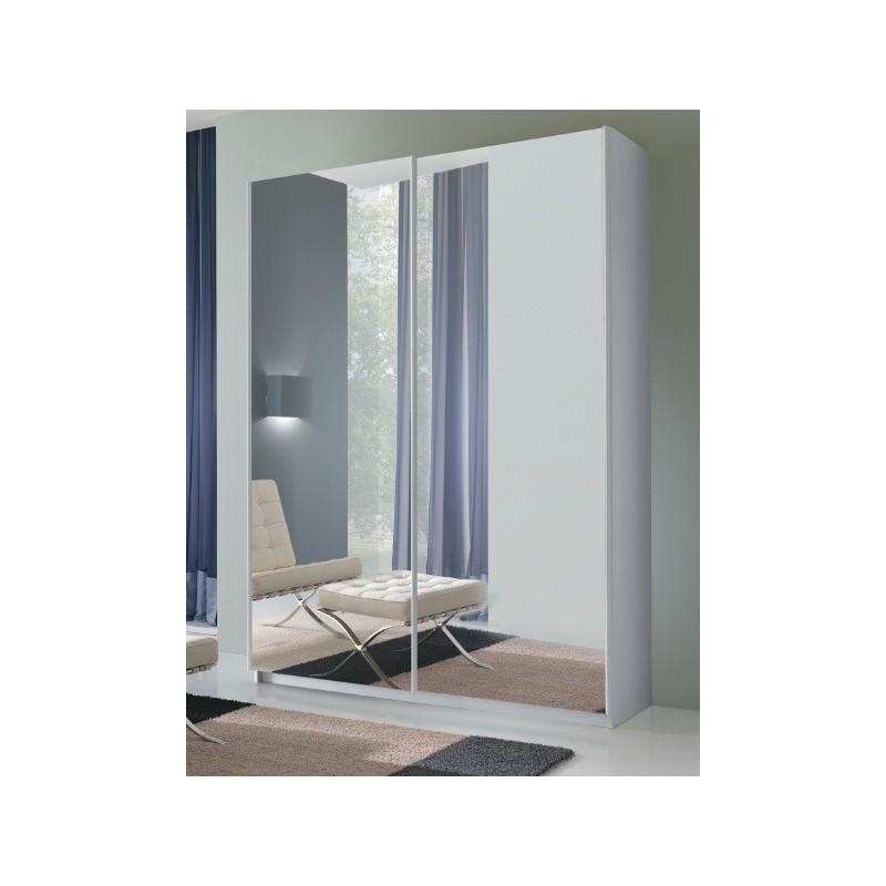 Armadio samba 2 ante scorrevoli a specchio arredo casa - Armadio ante scorrevoli specchio ...