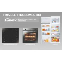 TRIS ELETTRODOMESTICI CANDY  INCASSO  FRIGO / FORNO / PIANO COTTURA